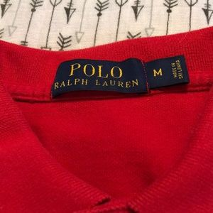Polo Ralph Lauren Red short sleeve shirt